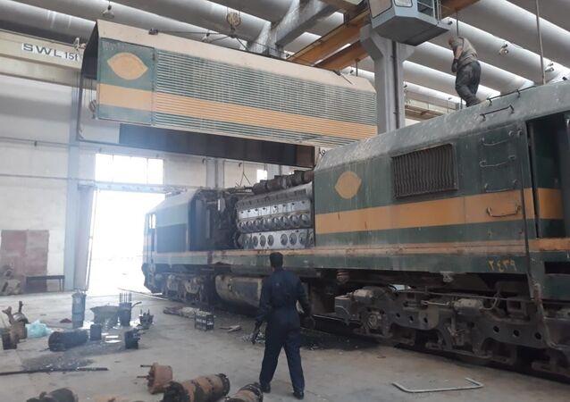 قطارات العراق