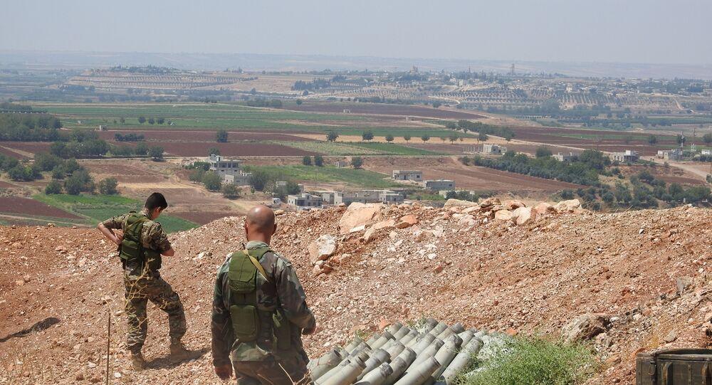 سبوتنيك ترصد هدوء الجبهات على خطوط التماس بريفي حماة وإدلب