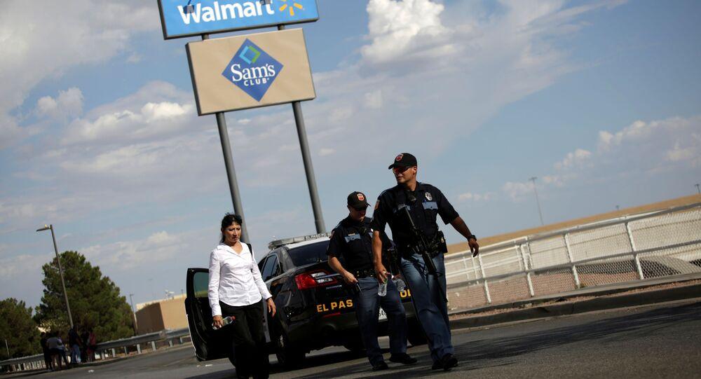 موقع إطلاق النار في مدينة إل باسو بولاية تكساس، الولايات المتحدة الأمريكية، 4 أغسطس/آب 2019