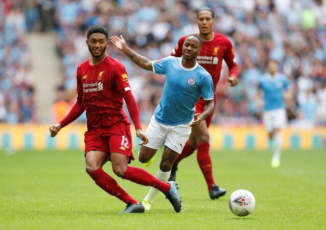 مباراة ليفربول أمام مانشستر سيتي في الدرع الخيرية