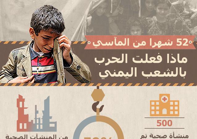 إنفوجرافيك - ماذا فعلت الحرب بالشعب اليمني