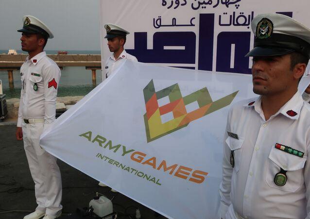انطلاق مسابقات الغوص في جزيرة كيش الإيرانية