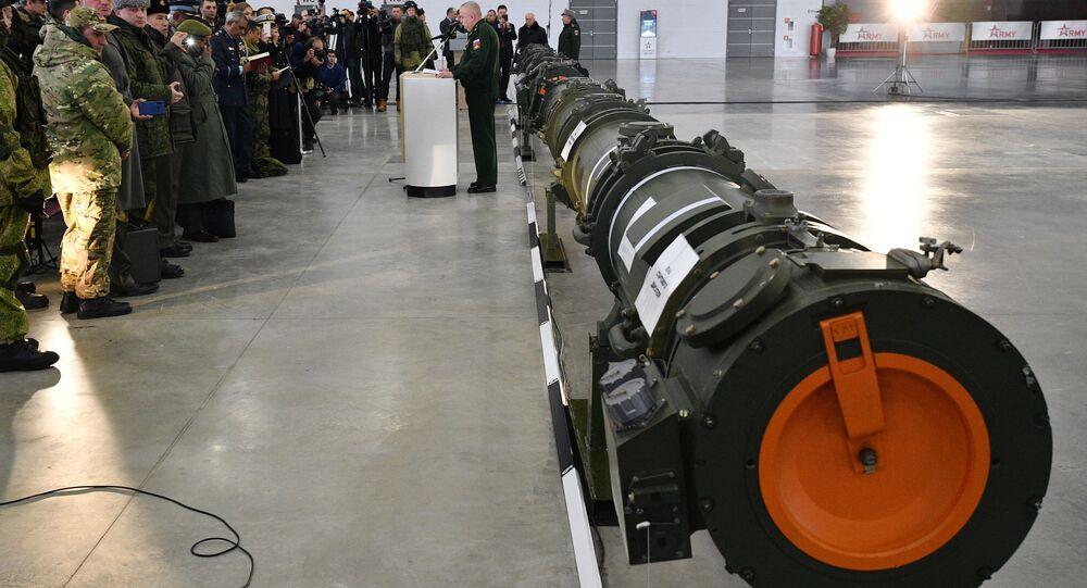 إظهار الصاروخ 9М729