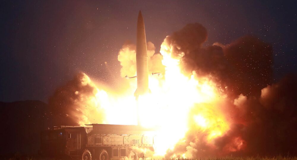 كوريا الشمالية - إطلاق نوع جديد من الصواريخ التكتيكية الموجهة، 7 أغسطس/ آب 2019