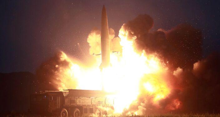 انفجار هائل يهز كوريا الشمالية ويسقط عشرات القتلى والجرحى فيديو