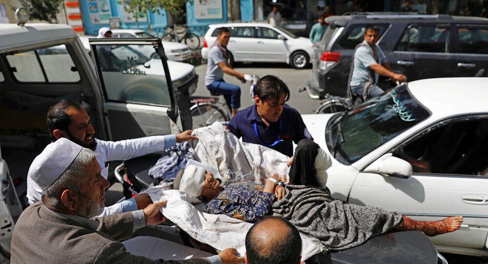 تفجير في كابول