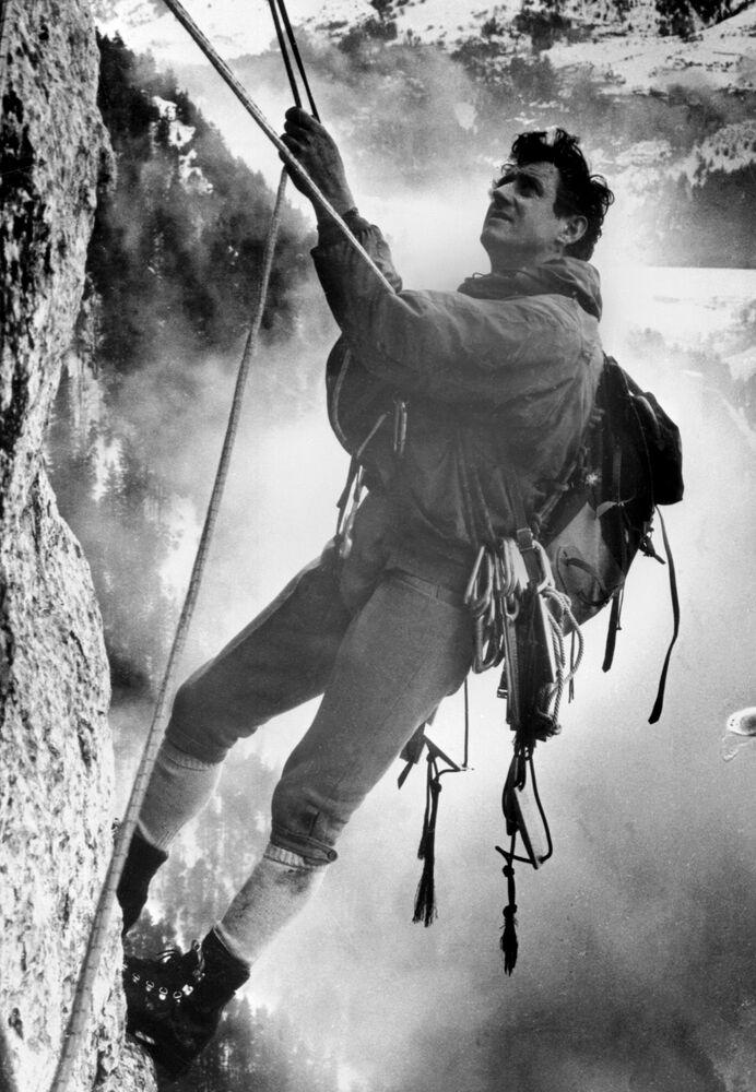 التسلق في جبال الألب، فرنسا 1968
