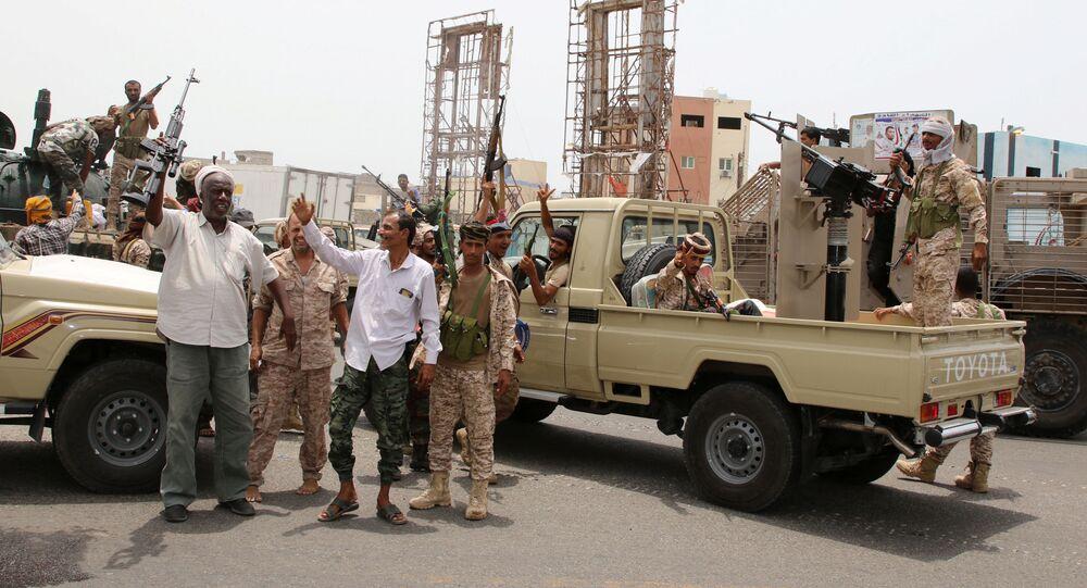 قوات المجلس الانتقالي الجنوبي في عدن