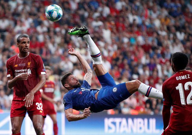 مباراة ليفربول وتشيلسي على كأس السوبر الأوروبية