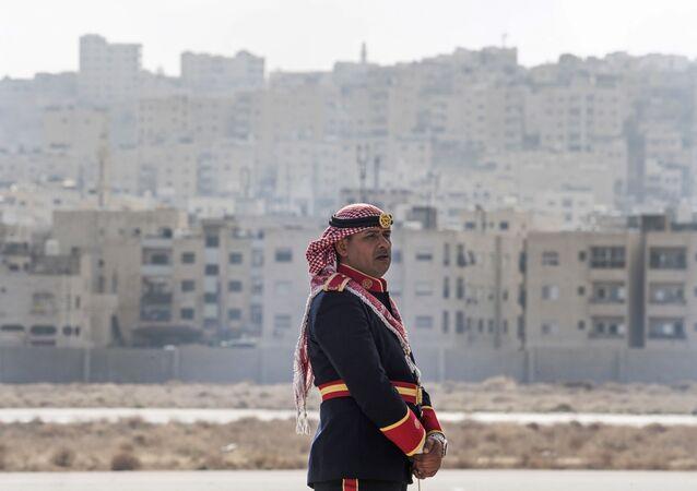عضو بالحرس الملكي الأردني- الأردن