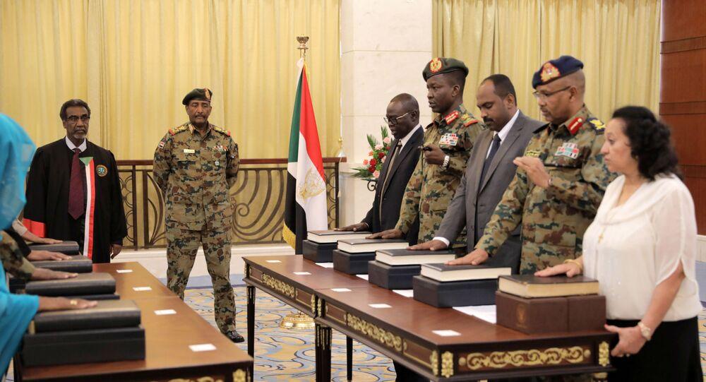 المجلس السيادي في السودان يؤدي اليمين الدستورية