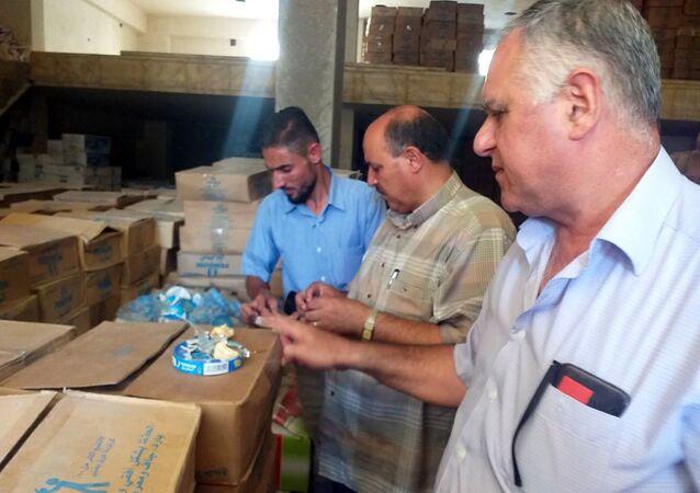 السلطات السورية تتلف 14 ألف طرد جبنة مصرية فاسدة عبرت تركيا نحو شرق الفرات