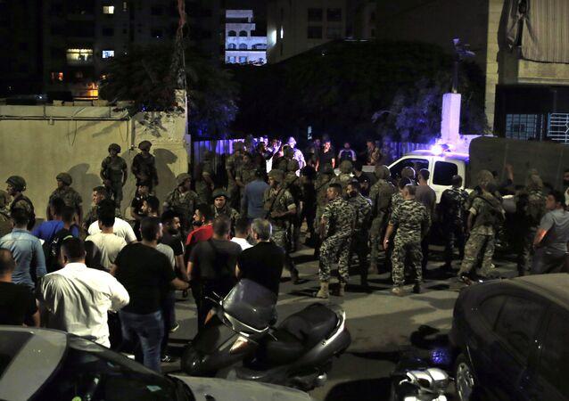 سقوط طائرة مسيرة إسرائيلية في ضاحية بيروت الجنوبية