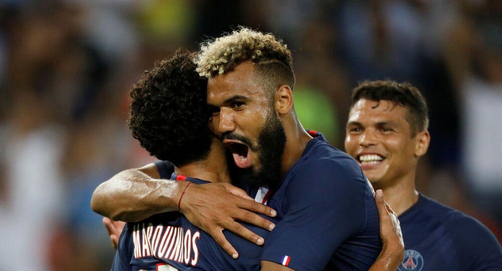 باريس سان جيرمان من مباراة تولوز بالدوري الفرنسي