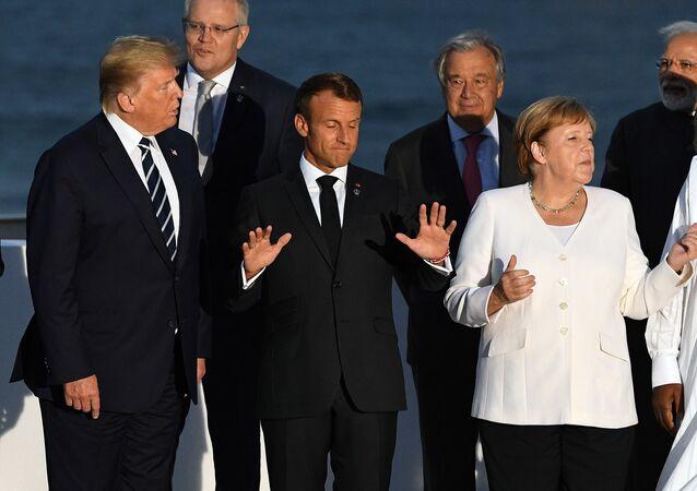 ترامب وقادة مجموعة السبع