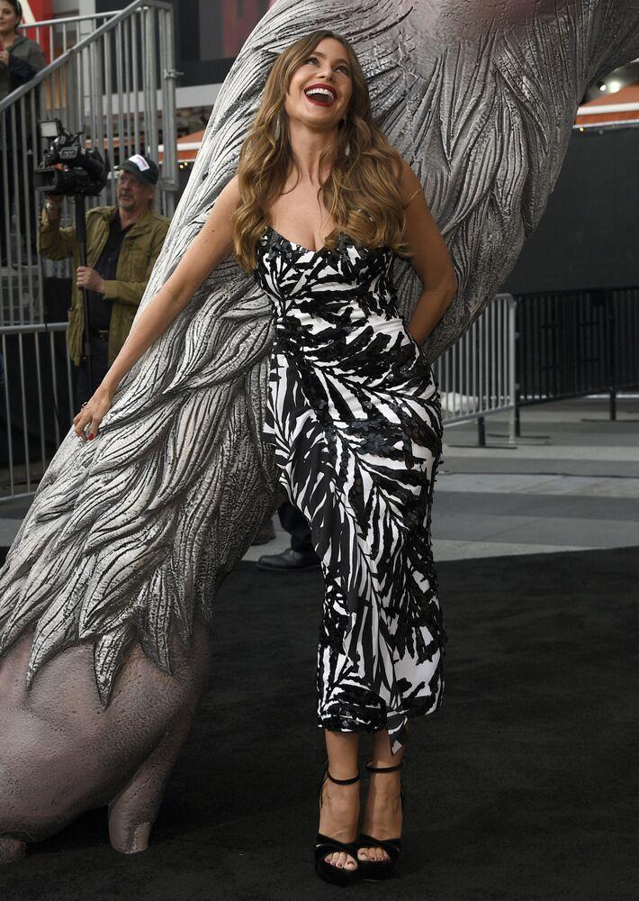الممثلة صوفيا فيرغارا جاءت في المركز الثاني بحصولها على 44.1 مليون دولار في عام واحد
