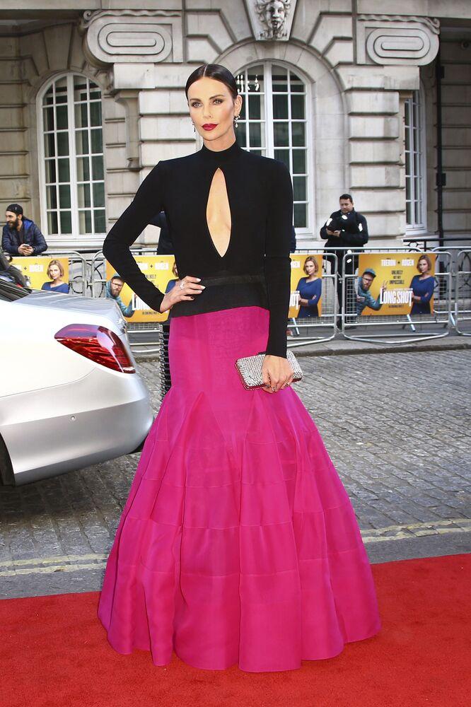 الممثلة تشارليز ثيرون جاءت في المركز التاسع مع مبلغ قدره 23 مليون دولار في عام 2019