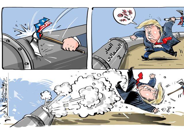وسائل الإعلام الألمانية: العقوبات ضد التيار الشمالي 2 تهدد أمريكا بالضرر