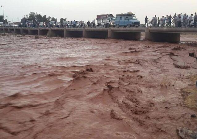 فيضانات كبيرة في المغرب تودي بحياة 7 أشخاص