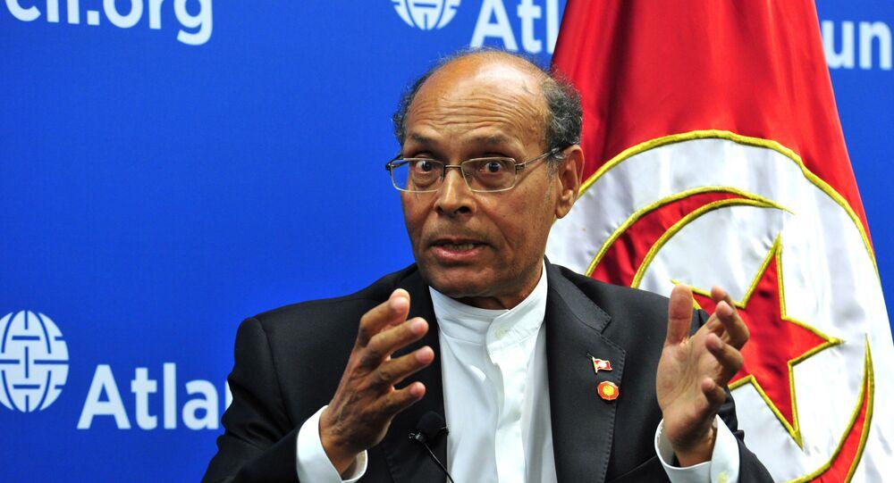 محمد المنصف المرزوقي، مرشح للرئاسة التونسية، صورة من عام 2014