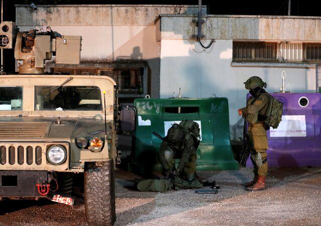 الجيش الإسرائيلي على الحدود اللبنانية