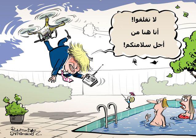بريطانيا تدرس جديا إرسال طائرات مسيرة إلى منطقة الخليج في ظل حالة التوتر مع إيران