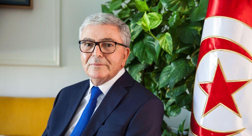 وزير الدفاع التونسي والمرشح الرئاسي، عبد الكريم الزبيدي