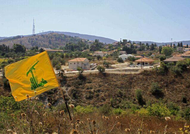 علم حزب الله، جنوب لبنان، الجنوب اللبناني، 2 سبتمبر 2019