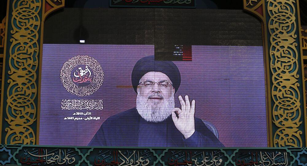 حسن نصرالله، حزب الله، الأمم المتحدة، جنوب لبنان، الجنوب اللبناني، 31 أغسطس 2019