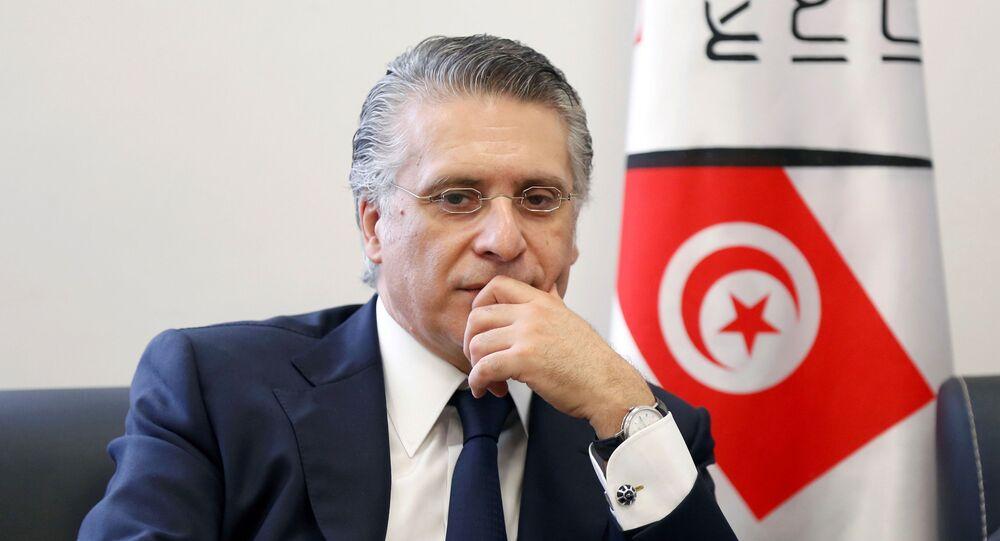 المرشح الرئاسي ورئيس حزب قلب تونس نبيل القروي