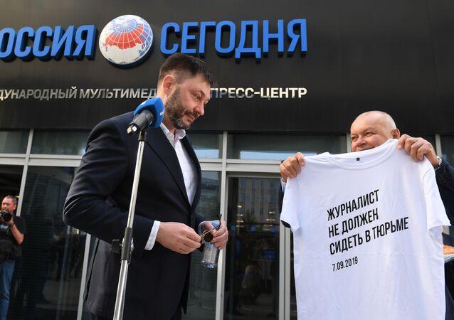 كيريل فيشينسكي يعود الى وكالة الأنباء الروسيا روسيا سيغودنيا