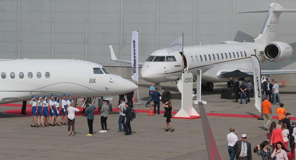 معرض الطيران التجاري الدولي RUBAE 2019 في موسكو