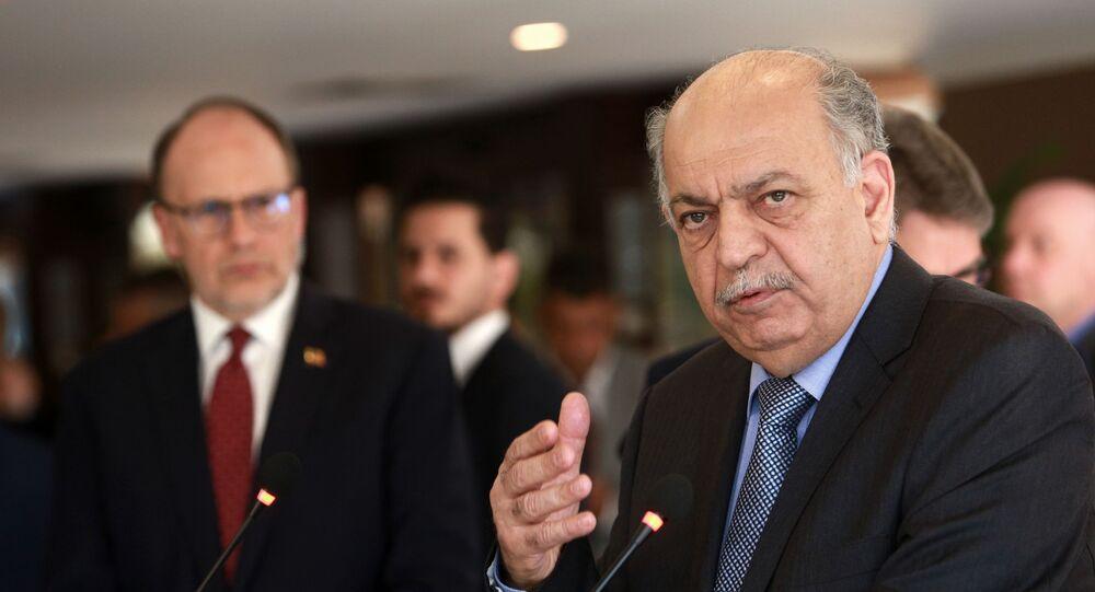 وزير النفط العراقي، ثامر الغضبان، 2018