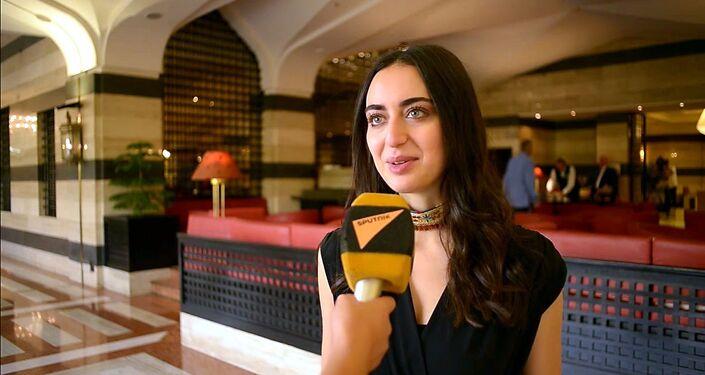 سبوتنيك تلتقي مع الفنانة السورية فايا يونان
