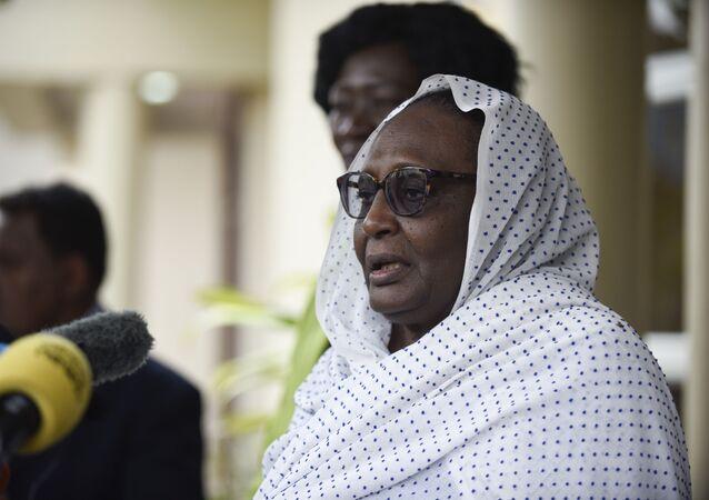 وزيرة الخارجية السودانية أسماء عبد الله