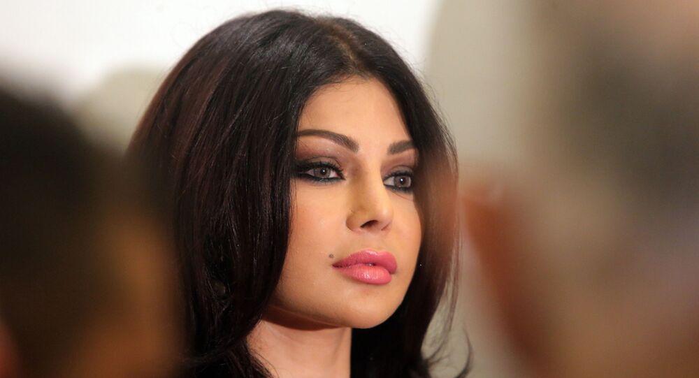 الفنانة اللبنانية هيفاء وهبي