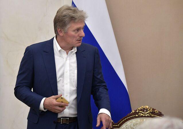 المتحدث باسم الرئاسة الروسية، دميتري بيسكوف، يونيو 2019