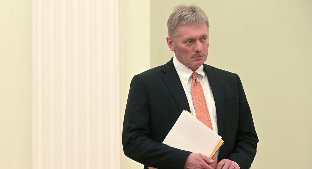 المتحدث باسم الرئاسة الروسية، دميتري بيسكوف، يوليو 2019