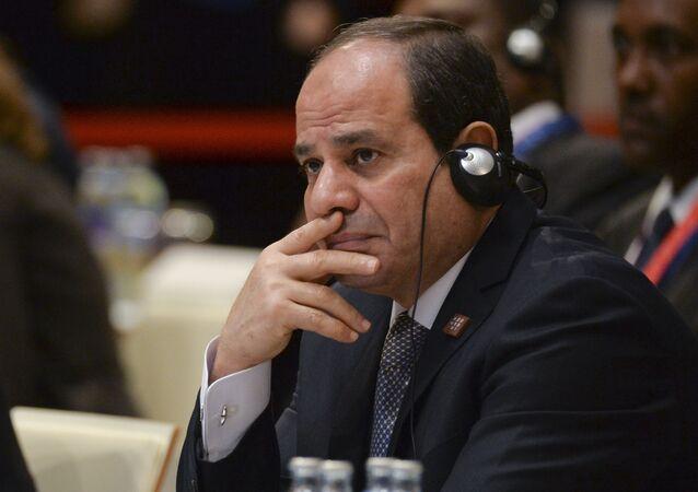 الرئيس المصري عبد الفتاح السيسي، خلال مشاركته في المنتدى الأفريقي الأوروبي في فيينا بالنمسا