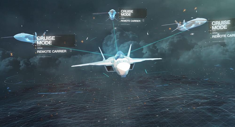 مقاتلة الجيل السادس تابعة لشركة Airbus