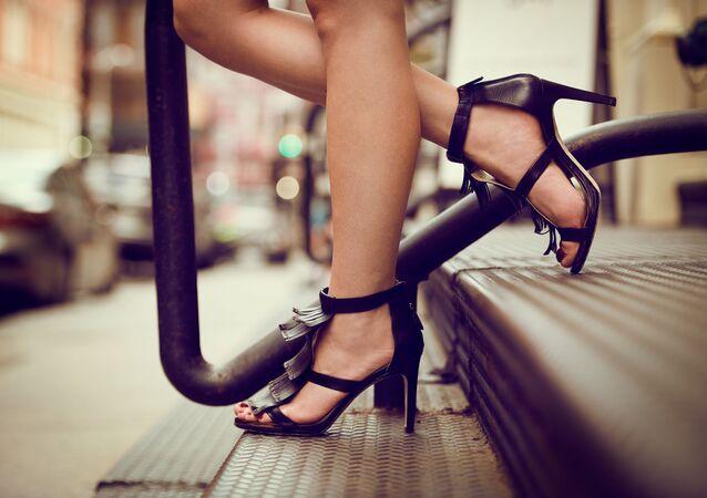 أحذية الكعب العالي