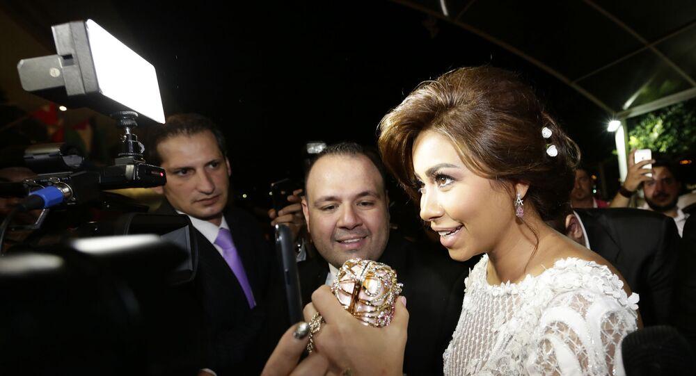 الفنانة المصرية شيرين عبد الوهاب