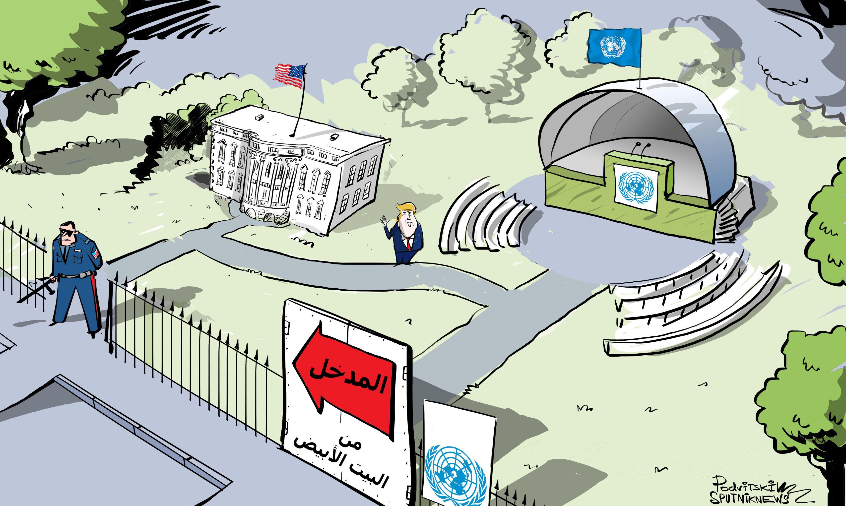 أمريكا لم تصدر تأشيرات للروس للمشاركة في الجمعية العامة للأمم المتحدة