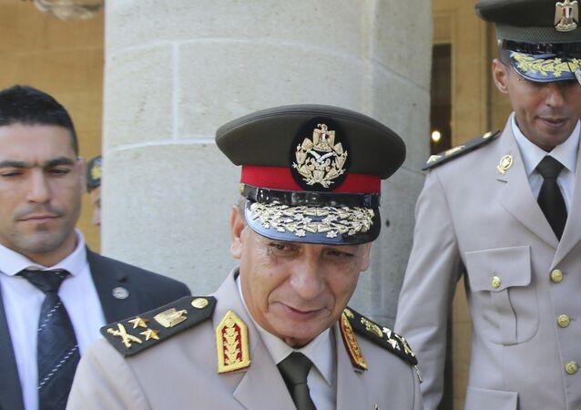 وزير الدفاع المصري الفريق أول محمد زكي - الجيش المصري