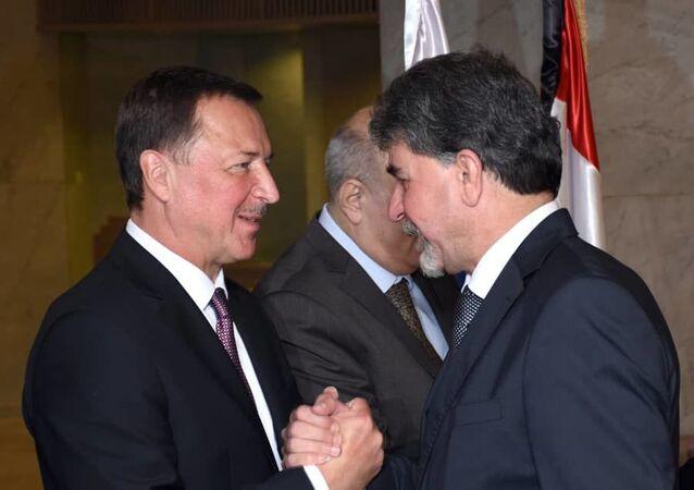 السفير الروسي في دمشق ألكساندر يفيموف يؤكد دعم روسيا للسلام