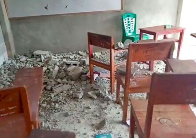 زلزال قوي يضرب إندونسيا