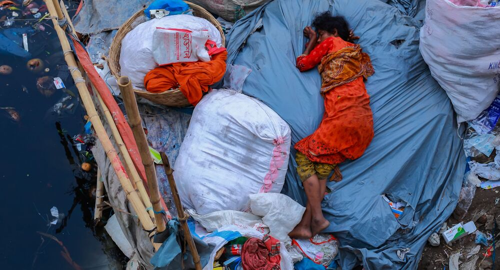 صورة بعنوان نوم المتعب، للمصور أمداد حسين، الذي وصل إلى نهائي مسابقة المصور البيئي لعام 2019