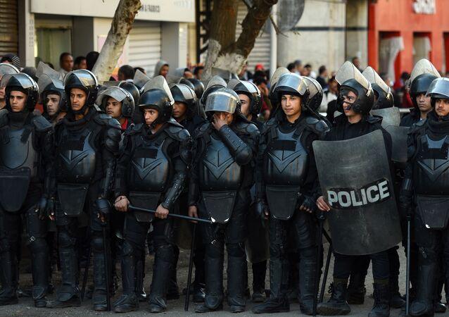 جنود من الشرطة المصرية