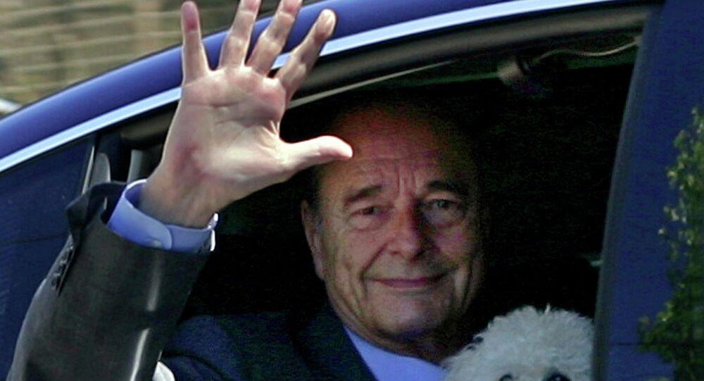 الرئيس الفرنسي السابق الراحل جاك شيراك، عام 2006