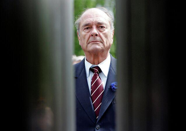 الرئيس الفرنسي السابق الراحل جاك شيراك، عام 2007